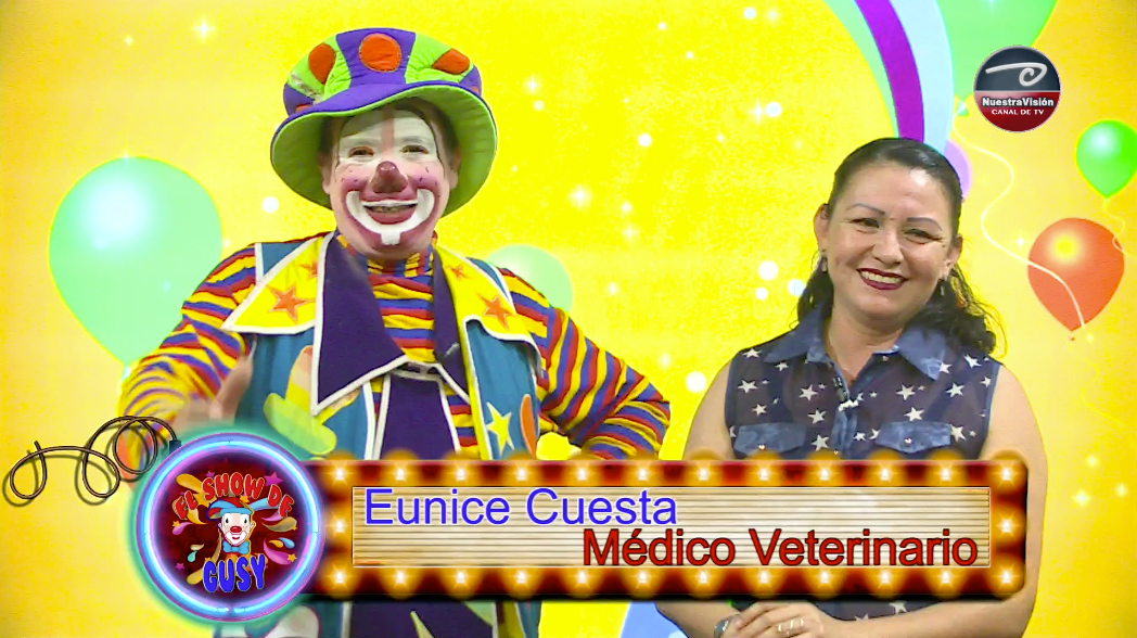 El Show de Gusy – Dra. Eunice Cuesta