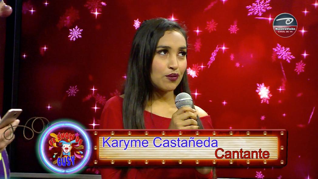 El Show de Gusy – Karime Castañeda